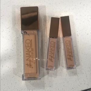 Urban decay stay naked foundation + concealer